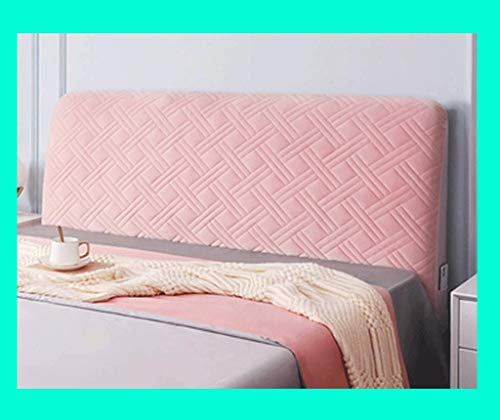 LANG ZI Elástica Fundas cabecero Cubierta de cabecera150/160/170cm Funda Protectora de cabecera de Cama a Prueba de Polvo Armada (Color : C, Size : 140cm)