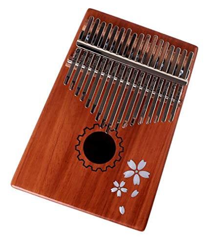 17-Tasten-Daumenklavier, hochwertiges akustisches Mahagoni-Fingerpiano mit hoher Klangqualität, geeignet für Geschenke