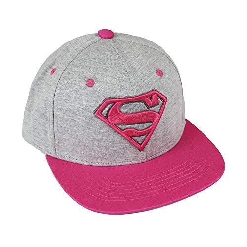 Superman-2200002238 Gorra premium New Era 58 cm, color multicolor (multicolor 001), 3 (Tamaño del fabricante:M) (Artesanía Cerdá 2200002238)