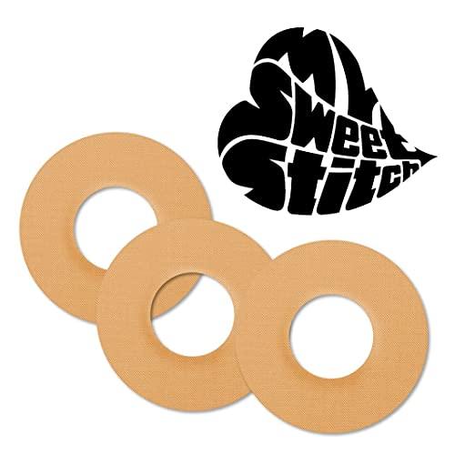MySweetStitch | Freestyle Libre toppe adesive impermeabili per protezione, traspirante per sensore in set di 10 | Intorno