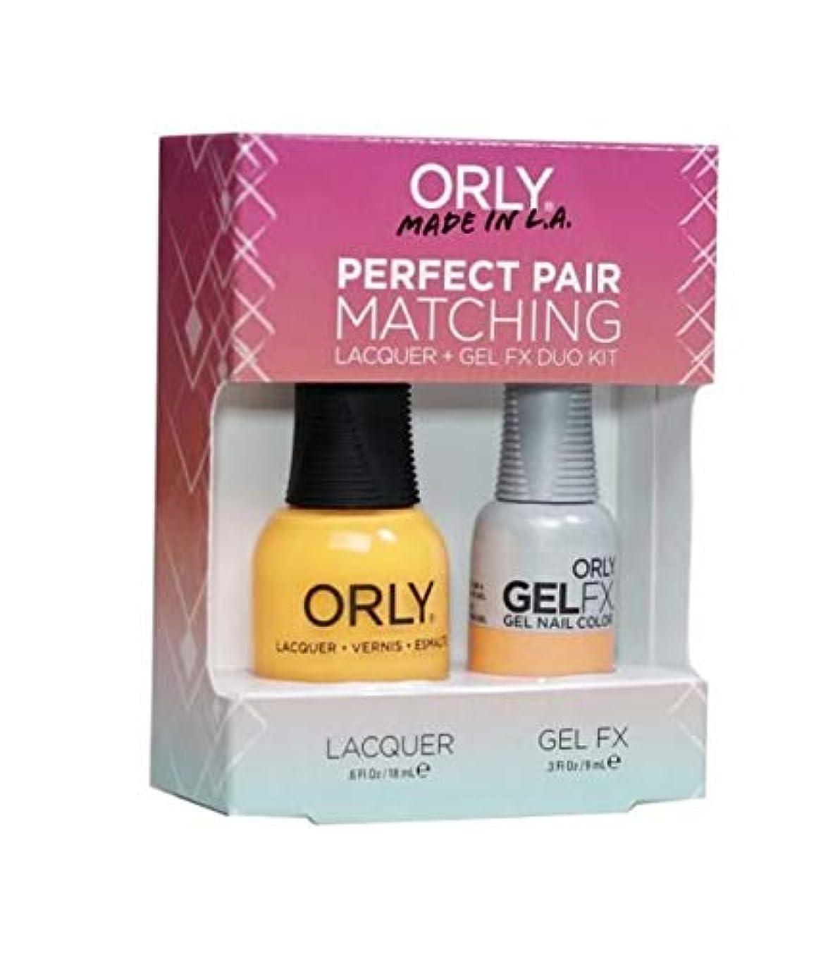 広まった最大の不足Orly Lacquer + Gel FX - Perfect Pair Matching DUO Kit - Tropical Pop