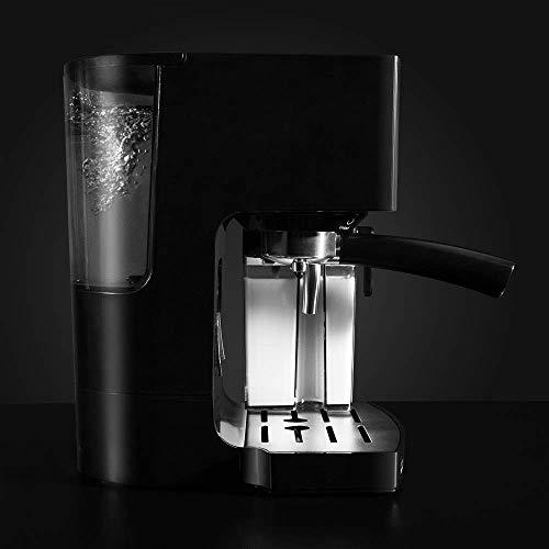 Cecotec Power Instant-ccino Cafetera Express Semiautomática, Tanque de Leche, Cappuccino en un Solo Paso, 20 Bares de Presión y Sistema Thermoblock, Inox