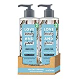 Love Beauty and Planet Loción corporal para Piel fresca y saludable, Agua de Coco y Flor de Mimosa Vegano - Pack de 2 x 400 ml (Total: 800 ml)