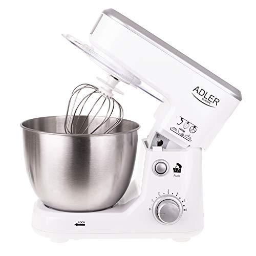ADLER AD 4216 Küchenmaschine, 1000 W,...
