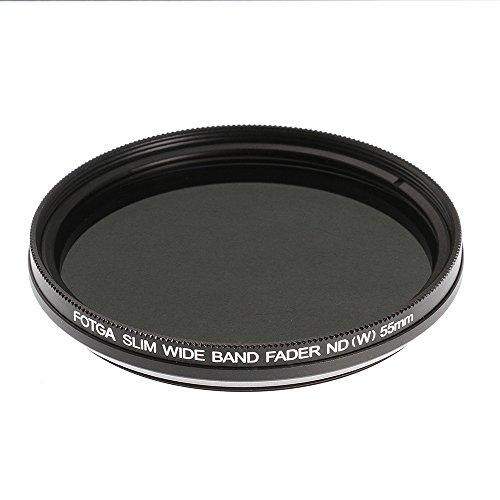 Ruili 52mm Slim Fader Variable ND Filter Adjustable ND2 to ND400 Neutral Density Lens Filter for DSLR Camera