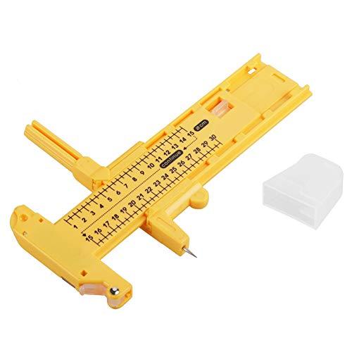 HEEPDD Premium-Qualität Rotary Compass Kreisschneider Kreisschneidwerkzeug Papierschneider Rotary Compass Papier Pappe Gummi Leder Art Craft Tool