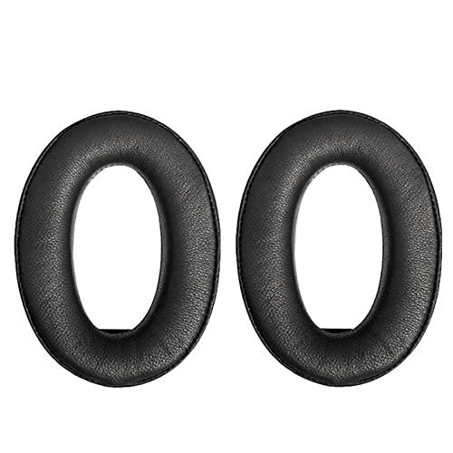 XQxiqi689sy Earphone Sleeves Dust-Proof Headphone Cushions Replacement Replaceable Waterproof Elastic 1 Pair Black 1