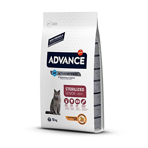 Advance cat sterilized sensitive senior 10+ kattenvoer 10 KG