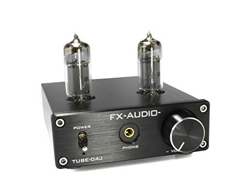 FX-AUDIO『真空管ハイブリッドプリメインアンプ(TUBE-04J)』