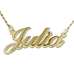 Have your name or a loved ones name close to you at all times. Classic Nameplate Necklace. click on ''Customize Now'' to order A perfect gift for women, mom, wife, girlfriend, cousin, sister, family, aunt, best friends, bridesmaid, loved ones or a sp...