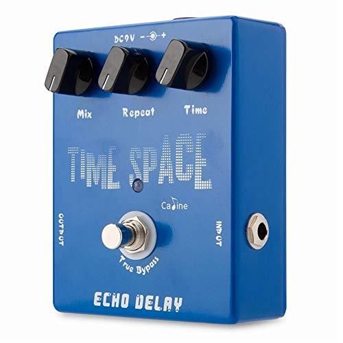 LiChaoWen gitaareffecten, digitale delay, 600 ms, Max Effect, CP-17 tijd, Space, Echo Delay-Effecten pedaal