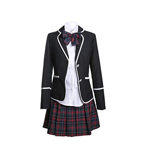 URSFUR-uniforme scolastica giapponese/britannica di manica lunga,uniforme cheerleading,cosplay per International Comic Festival,gioco di ruolo degli studenti.