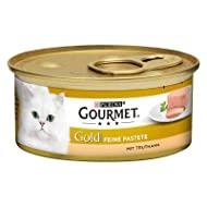 Gourmet Gold Pâté Mega Pack Complete Wet Cat Food Recipes For A Balanced and Healthy Diet - Turkey, ...