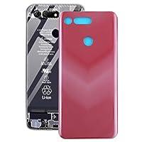 Mawenfeili、 Huawei社の名誉V20用バッテリーバックカバー(ブラック) 優れたデザイン (Color : Red)