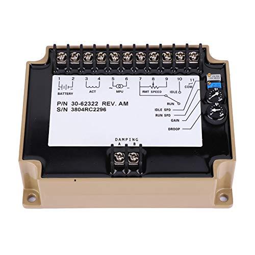 Weikeya Controlador de velocidad del motor, módulo de control electrónico eléctrico 40MA...