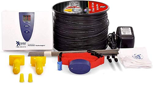Underground Electric Dog Fence Premium - Standard Dog Fence System for...