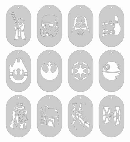 Stencils - Star Wars Set of 12 LARGE stencils