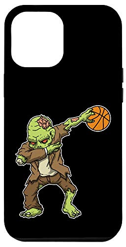 iPhone 12 Pro Max Dabbing Zombie Basketball Funny Halloween Costume Case