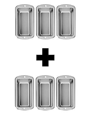 Wilton Recipe Right 6 Piece Mini Loaf Pan Set