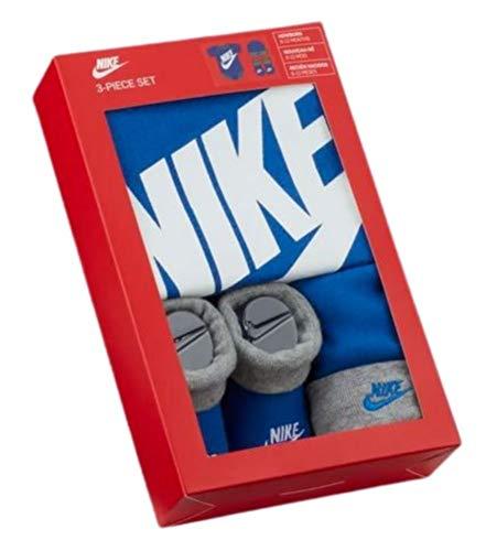 Nike - Estuche de regalo para bebé con gorro y zapatos,...