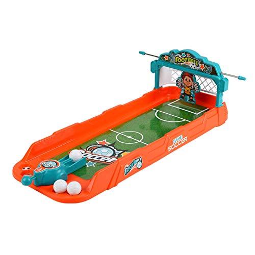 Turtle Story Desktop Fußballspiel Set, Sling Puck Spiel Foosball Gewinner Brettspiel, Kinder Tragbare Mini Tisch Fußball Spiele Party Home Interaktives Spiele Spielzeug JXNB