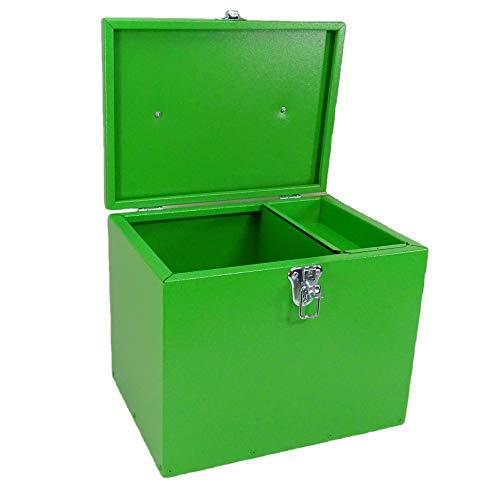 Pferde-Putzbox grün; Putzkiste für Pferde; Pferde-Putzbox; Putzkiste; Putzkasten; Alu-Putzbox, für Reiter und Ihre Pferde entwickelt - 3