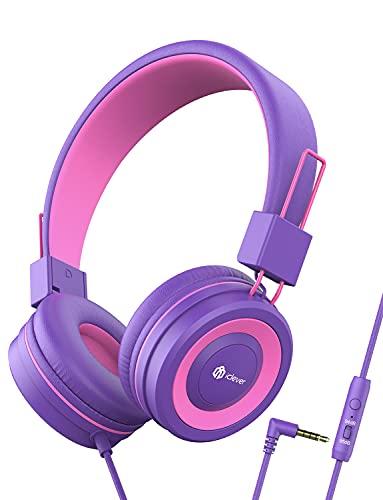 Auriculares para Niños, iClever Auriculares con Cable para Niños,...