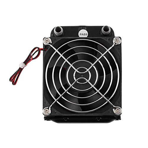 Nihlsen fila de la refrigeración por agua de 80m m con la fan para el cambiador de calor del radiador del ordenador de la CPU