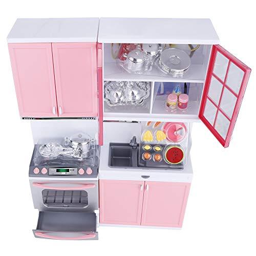 Zwindy Juego de Juguetes de Cocina, casa de Juegos de Cocina, diseño de Sonido y luz para niñas y niños