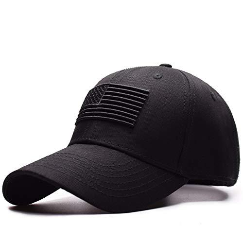 Black American Flag Baseball Cap USA Low Profile Patriotic Snapback Dad Hat for Men or Women