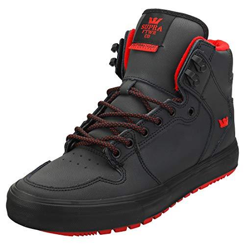 Supra Unisex-Erwachsene Vaider Cold Weather Hohe Sneaker, Schwarz (Black-M 8), 44 EU