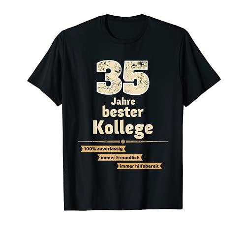 Camiseta de regalo para aniversario de la empresa 35 años Camiseta