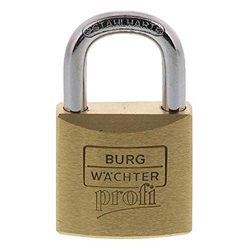 Burg-Wächter Vorhängeschloss, Profi 116 30 SB, inkl. 2 Schlüssel, Bügelstärke: 5 mm