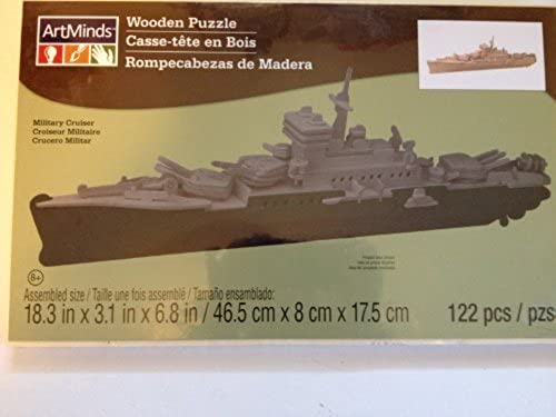 ArtMinds Wooden Puzzle Military Cruiser by ArtMinds