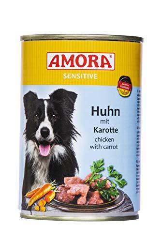 Amora Sensitive Huhn mit Karotte 12 x 400g Hundefutter