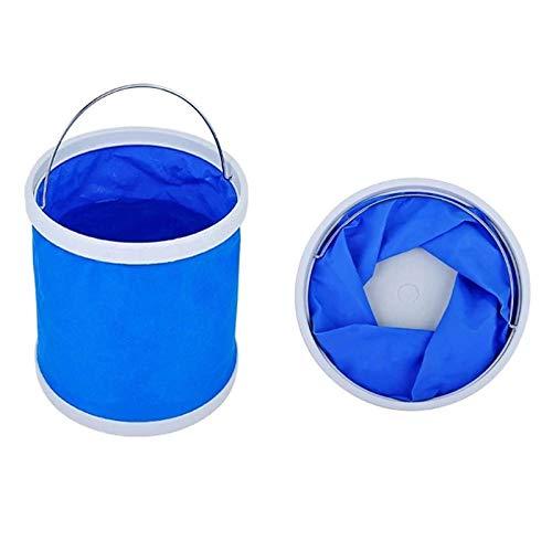 inherited 2 Piezas Cubo Plegable Cubeta de Agua portátil Multiuso, Apto para...