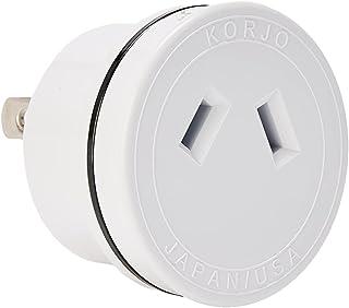 KORJO JA 06 International Power Adapter, 4.2 Centimeters, White