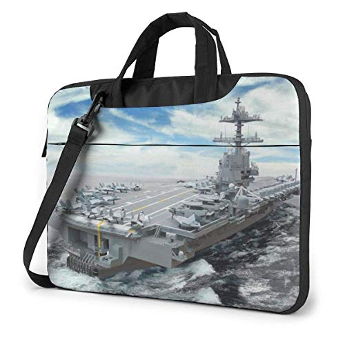 Laptop Shoulder Bag Carrying Laptop Case, Aircraft Carrier Computer Sleeve Cover, Business Briefcase Protective Bag