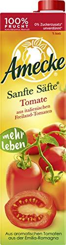 Amecke Sanfte Säfte Tomate - 100%, 6er Pack (6 x 1 l)