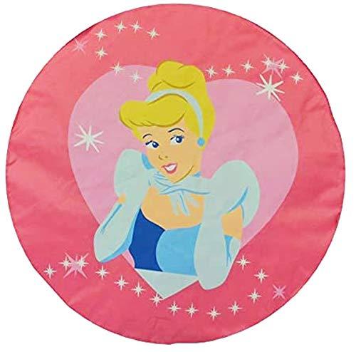 Pouf Disney Princesse rose ø 45cm