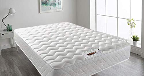 Mattress-Haven Mattress, Quilted Sprung Memory Foam Mattress,5FT - Kingsize Mattress