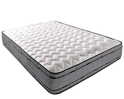 Mattress-Haven Pocket Spring Pocket Sprung 2000 Memory Foam Mattress3FT - Single