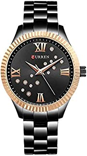 Curren Casual Watch For Women Analog Stainless Steel - 9009