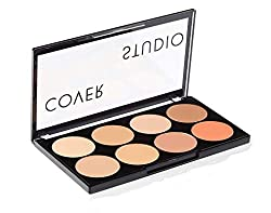 7 Best Concealers For Dark Circles For Indian Skin - Swiss Beauty Cover Studio Ultra Base Concealer Palette