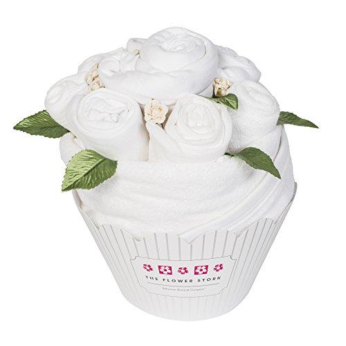 Cupcake Bouquet – Blanc classique