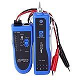ywlanlantrading Probador de Cables, rastreador de Cables RJ45 Red telefónica LAN Prueba de Cable Finder de Alambre eléctrico Trucidador de Cables Tester (Color : F-806B)
