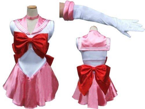 『男性M 美少女戦士 セーラーちびムーン ちびうさ コスプレ衣装』のトップ画像