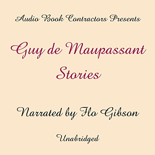 Guy de Maupassant Stories audiobook cover art