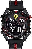 Scuderia Ferrari Reloj para de Cuarzo con Correa en Silicona 830743