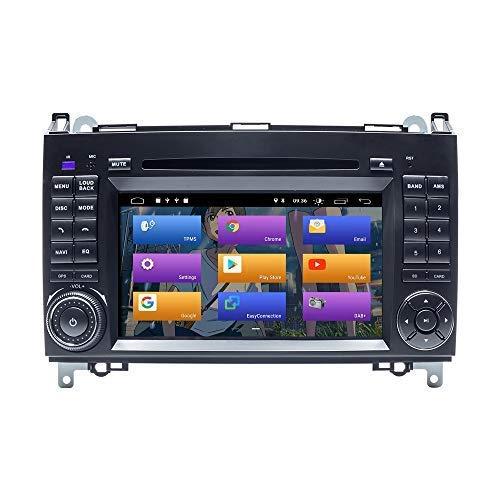 BOOYES für Mercedes-Benz W169 W245 B160 B170 B180 B200 W639 Vito Viano W906 Sprinter VW Crafter Android 10.0 Autoradio Stereo GPS 7